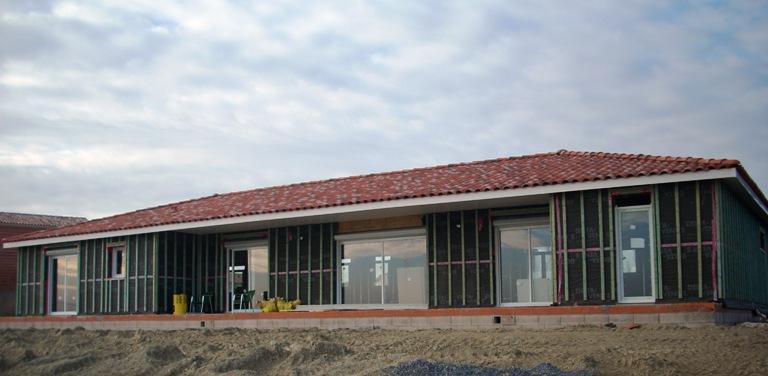 construction maison bois dans le 81, maison bois dans le 81,maison ossature bois tarn,realisation maison bois 81