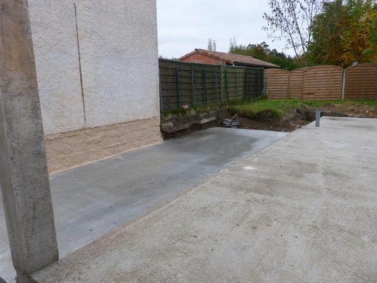 dalle beton,dalle beton maison bois,dalle beton maison ossature bois