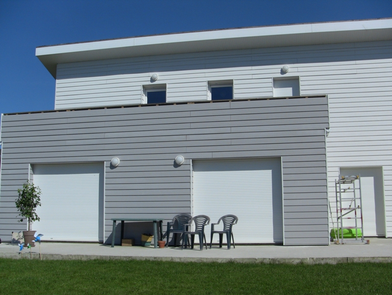 Maison ossature bois aquitaine top plan faade roulotte for Maison bois aquitaine