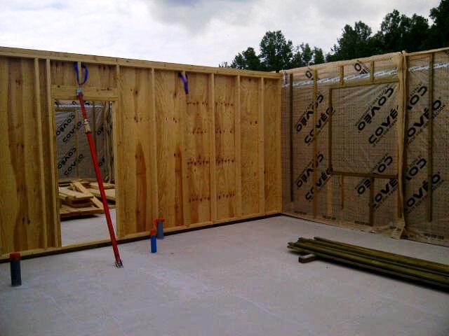 chantier maison ossature bois,ossature bois,midi pyrenees,tarn, construction maison ossature bois,construire une maison en bois