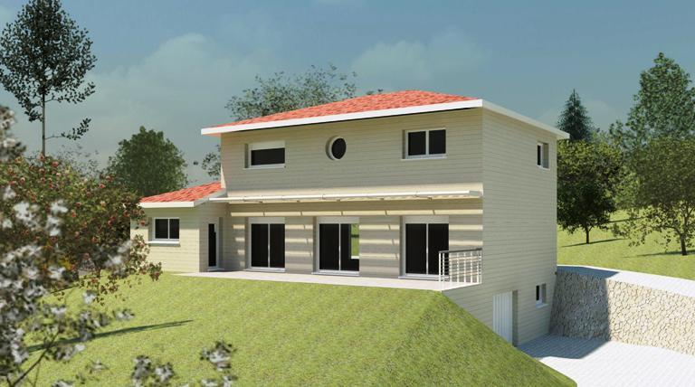 architecte maison bois tarn et garonne,maison bois tarn et garonne,ossature bois tarn et garonne,maison ecologique,bbc,maison bois