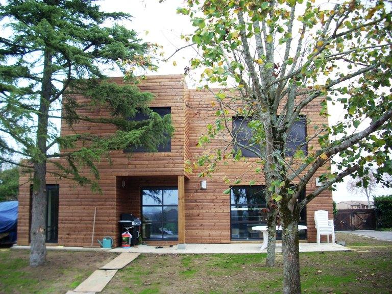 maison bois,maison a ossature bois,construction maison bois,haute garonne,midi pyrenees,grenade sur garonne,architecte maison bois 31