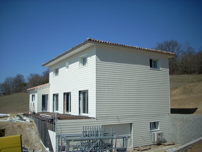 Plans et mod les de maison bois construction for Constructeur maison en bois tarn et garonne
