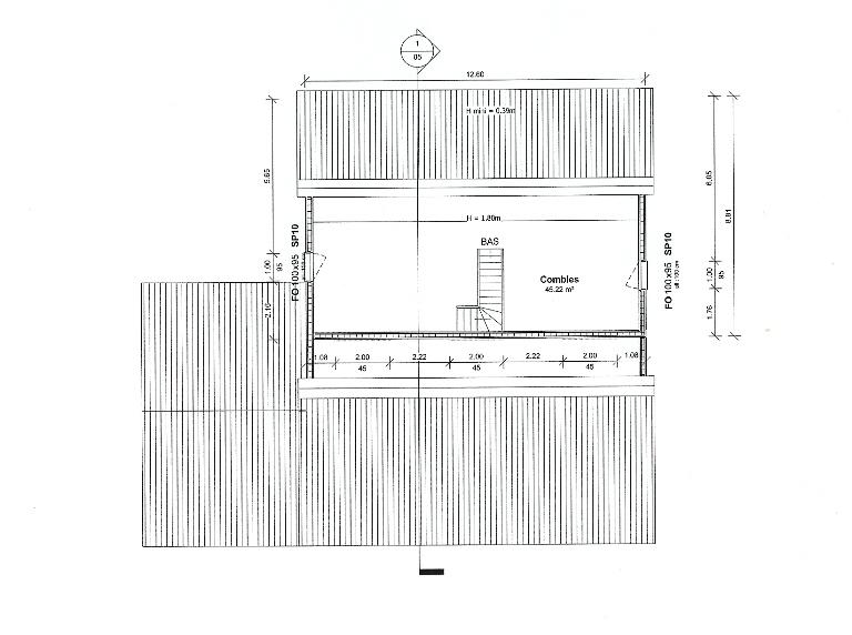 Plans et modèles de maison bois, construction, agrandissement en ossature boi