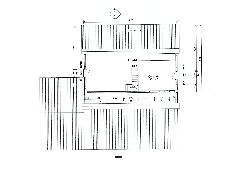 plan maison ossature bois haute garonne-midi pyrenees,constructeur maison bois toulouse,architecte maison bois toulouse