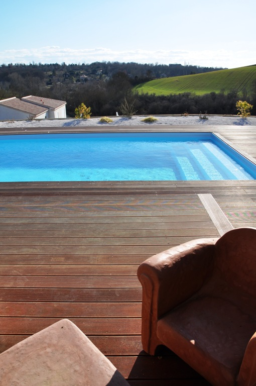 terrasse bois toulouse,haute garonne,midi pyrenees,piscine