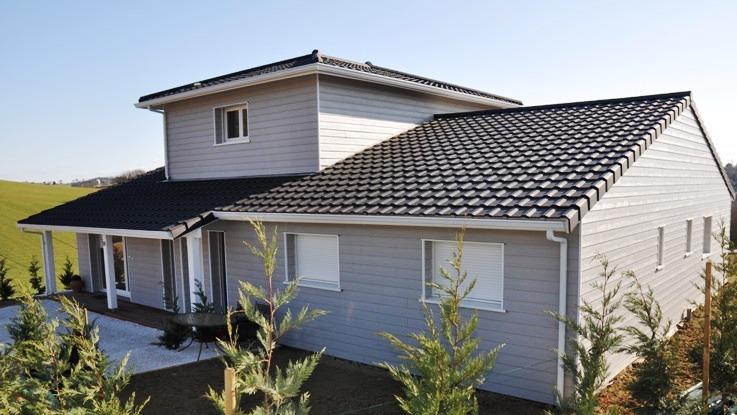Toute l histoire d un projet de construction de maison for Facade de maison grise