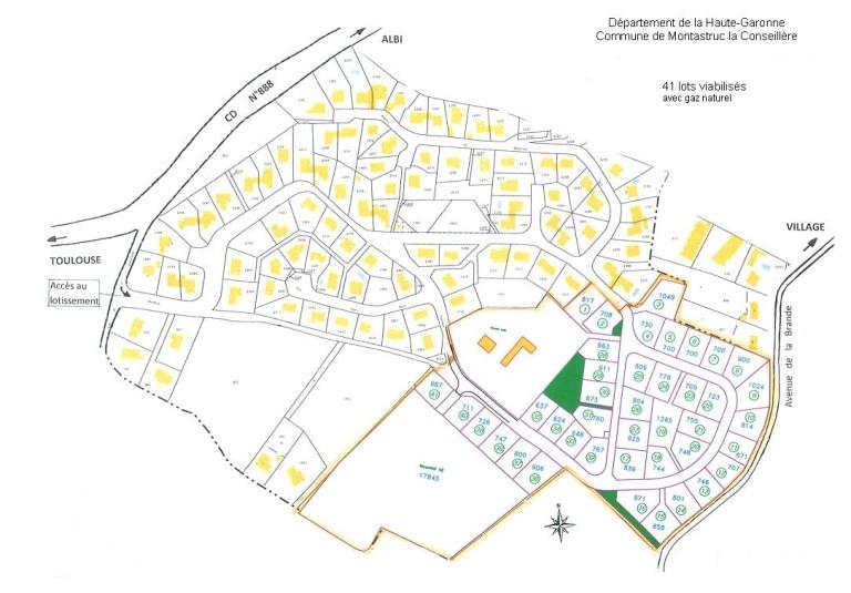 plan lotissement,plan maison bois,plan maison ossature bois,haute garonne,toulouse,midi pyrenees