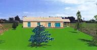 maison bois dans le Tarn